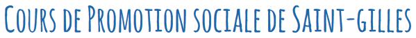 Cours de Promotion Sociale de Saint-Gilles Logo