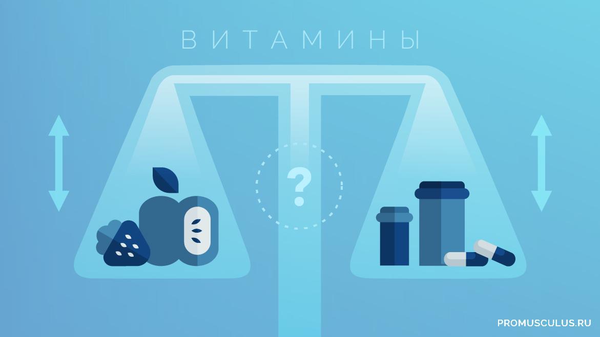 Витамины натуральные и синтетические — польза или вред?!