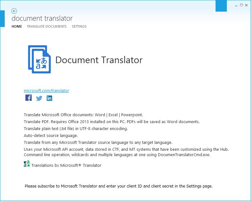 Document Translator