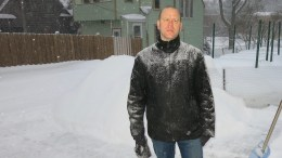 """I hate you, winter.""  A poem by Michael Dahl"