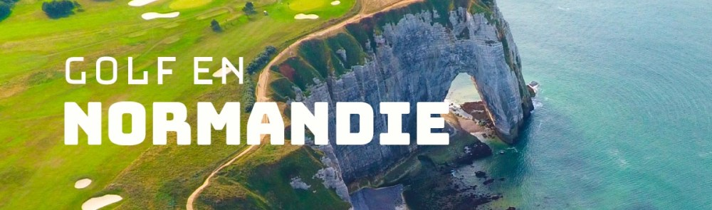 Bandeau golf en Normandie