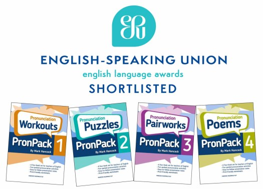 English Speaking Union recognises PronPack