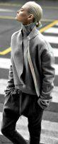gray cinzento street style fashion