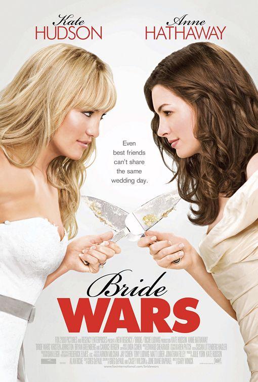 Casamento de cinema: Noivas em Guerra (Bride Wars)