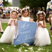 Ideias para daminhas e pajens: como envolvê-los no casamento