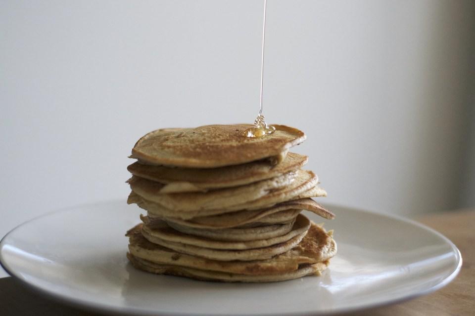 pancake integrali al cocco