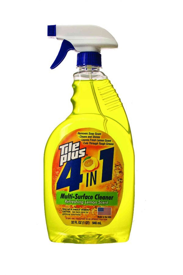 tile plus 4 in 1 multi surface cleaner