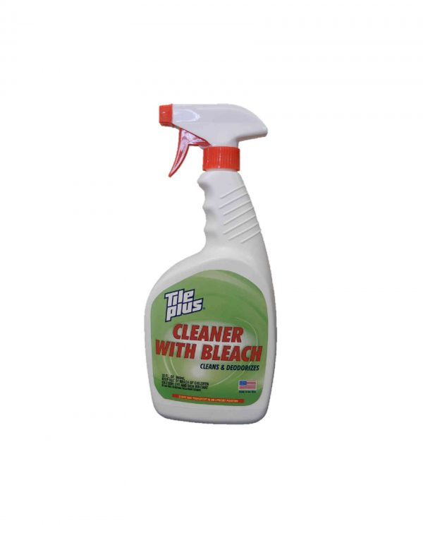 tile plus cleaner with bleach