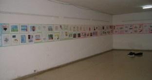 Muestra de trabajos de los talleristas dentro del hospital Psiquiátrico