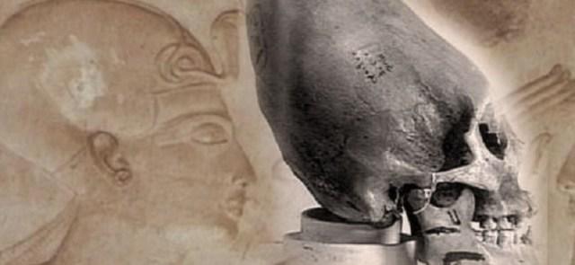 Egyptian elongated craniums Hieroglyphics
