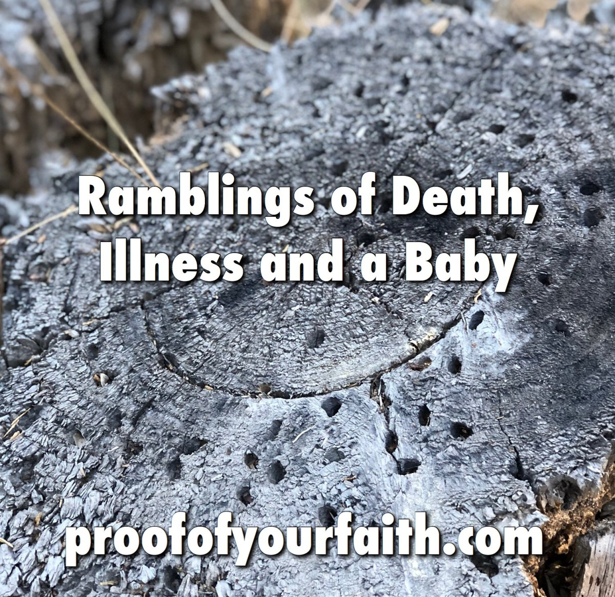 Ramblings of Death, Illness and a Baby