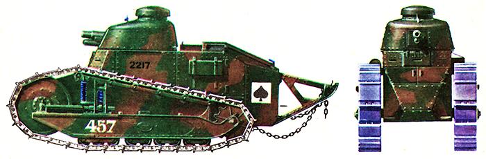 Французский легкий танк «Рено FT»