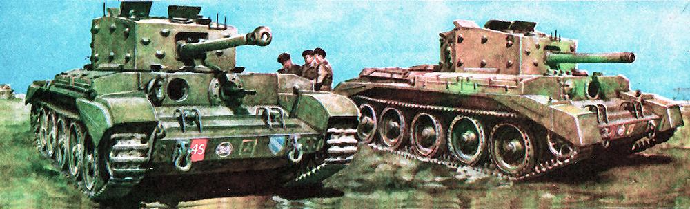 Английские «крейсерские танки MKVIII». «Кромвелл III», «Кромвелл IV»