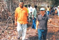 minister of agriculture and nephew in law of president of Guyana touring israeli settlement in Guyana