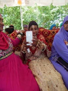 waffiya samad wedding at irfaan ali