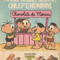 Chocolate Neugebauer Turma da Mônica (1989)