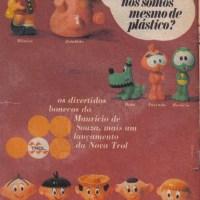 "Bonecos do Mauricio de ""Souza"" - Trol (1969)"