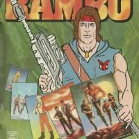 Álbum de figurinhas do Rambo (1988)