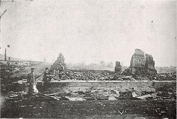 廃墟となったニコラエフスク
