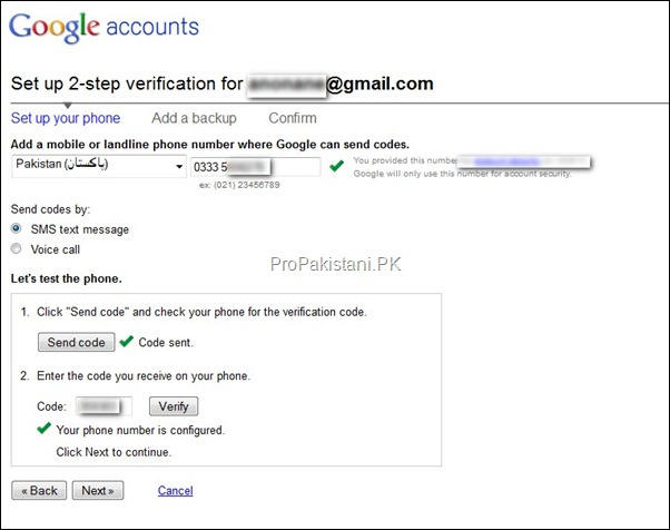 2 step authentication 02 thumb How to Enable 2 Step Verification for Google Account?