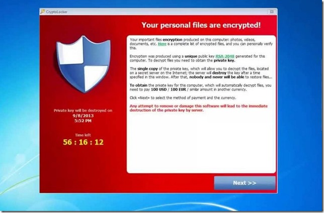 Cryptolocker Cryptolocker: The Most Destructive and Rapidly Growing Trojan Yet!