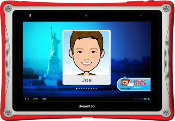 Fuhu Intel Android Tab for Kids Fuhu, Intel Team Up on First Intel based Android Tablet Just for Kids