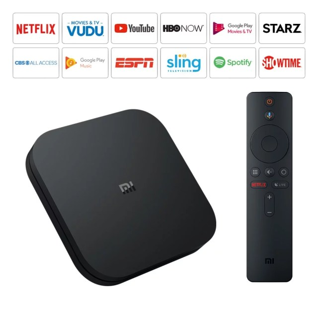 Mi Box S Android TV Box Channels