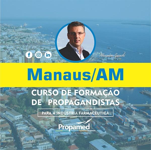 Curso de Formação de Propagandista - Manaus/AM