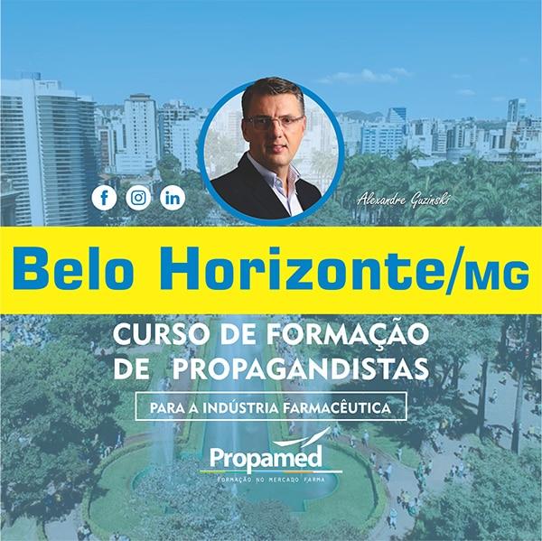Curso de Formação de Propagandista - Belo Horizonte/MG