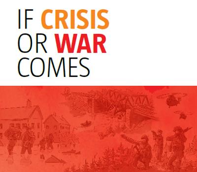 In Schweden wurden die Handlungsanweisungen für Krisensituationen wiederbelebt.
