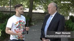 Ein estnischer Minister arbeitet mit dem Propagandakanal von Putin zusammen