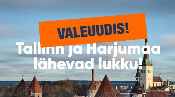 """Die falsche Nachricht """"Tallinn wird abgeriegelt"""" war kein koordinierter Informationsangriff"""