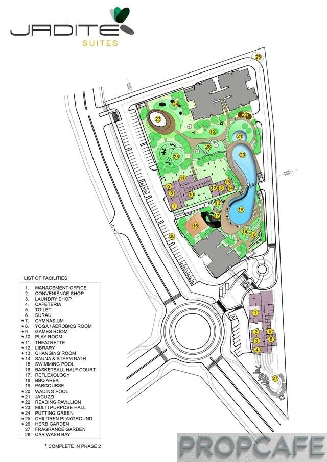 Jadite Suites Development Plan