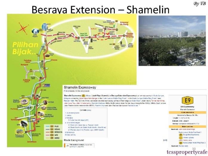 Besraya Estension - Shamelin Expressway