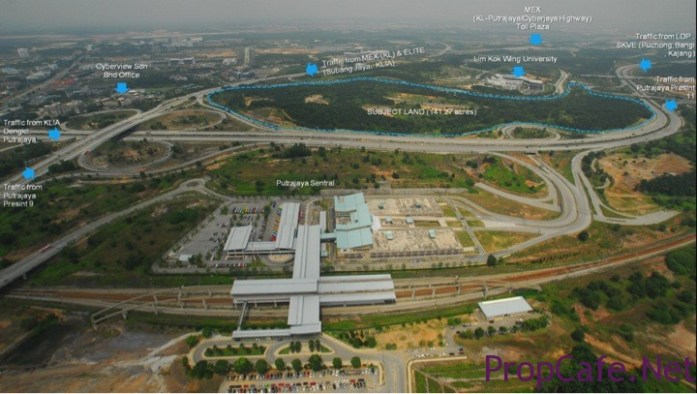city centre cyberjaya location