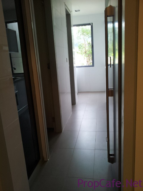 Corridor to kitchen