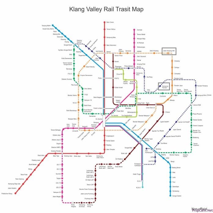 KLRTM map