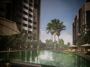 Sunsuria Rafflesia - pool view