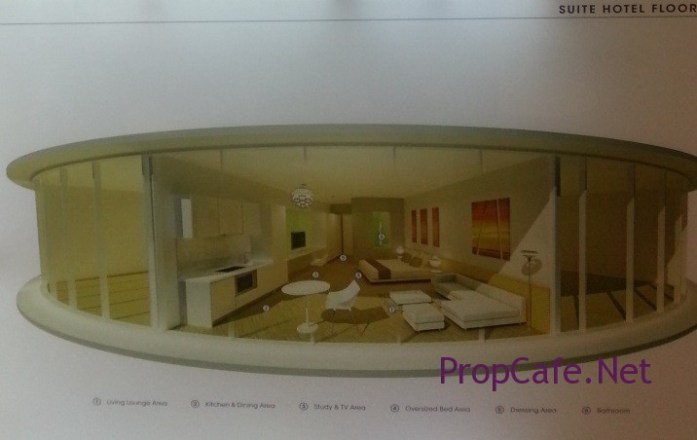 Typical Hotel Suites Plan