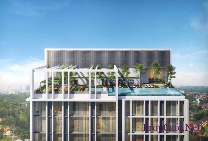 REV.O Bukit Jalil Roof Top Infinity Pool Overlooking Bukit Jalil City