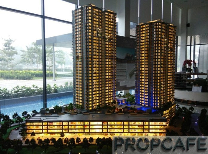 Le Pavillion Puchong Scale Model 02