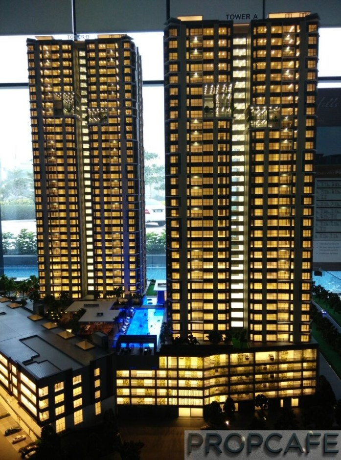 Le Pavillion Puchong Scale Model 03