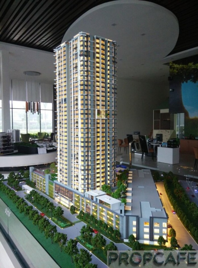 Le Pavillion Puchong Scale Model 05