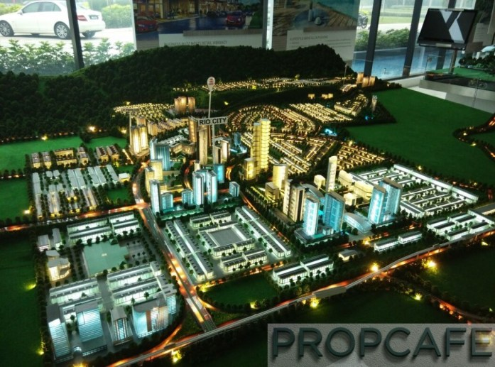 Le Pavillion IOI Rio City Puchong Scale Model 03
