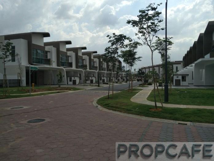 Setia Eco Glades Streetscape (4)