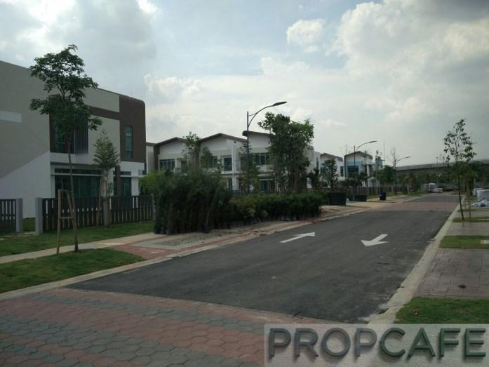 Setia Eco Glades Streetscape (5)