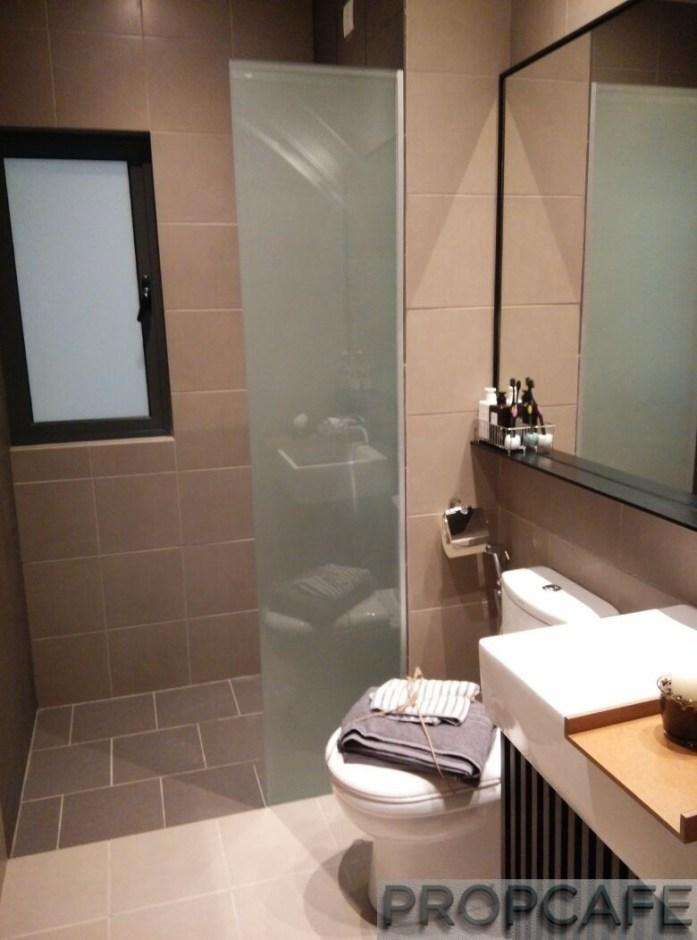 Sunway Gandaria Bangi Master Bedroom Bathroom