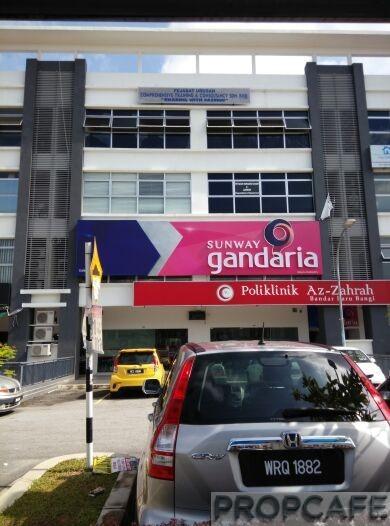 Sunway Gandaria Bangi Sales Gallery