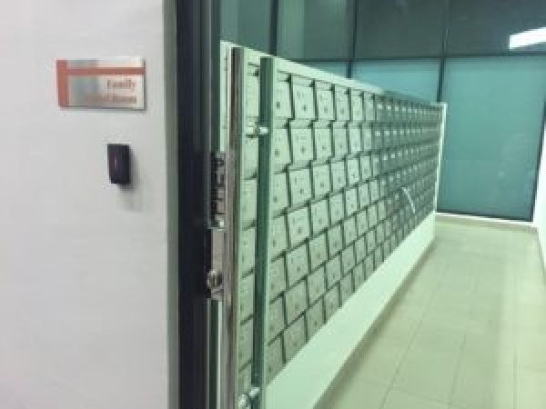 Uptown-residences-mail room