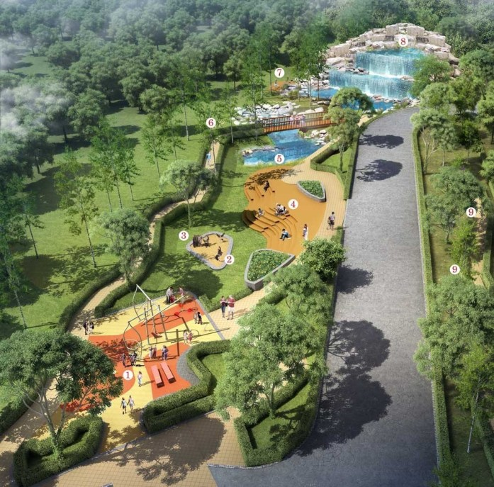 RAINFOREST GARDEN FEATURES & FACILITIES